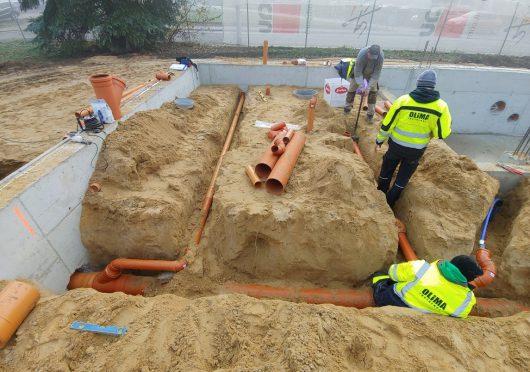 Rewitalizacja basenu odkrytego wraz z infrastrukturą